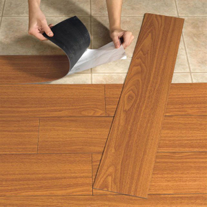 self-adhesive tile